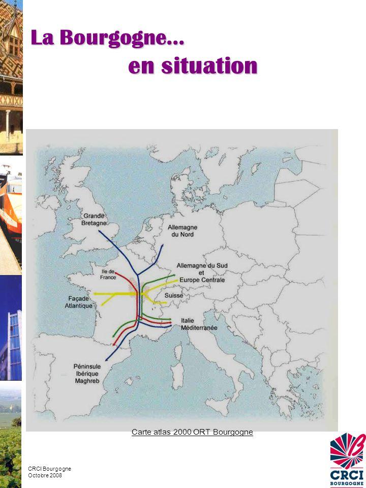 Carte atlas 2000 ORT Bourgogne