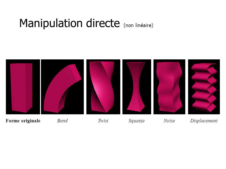 Manipulation directe (non linéaire)
