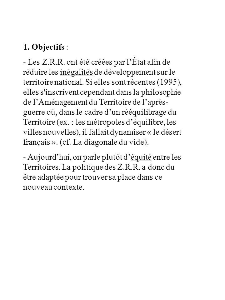 1. Objectifs :
