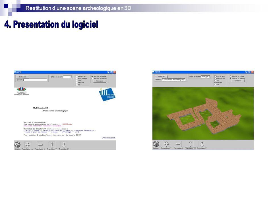 4. Presentation du logiciel