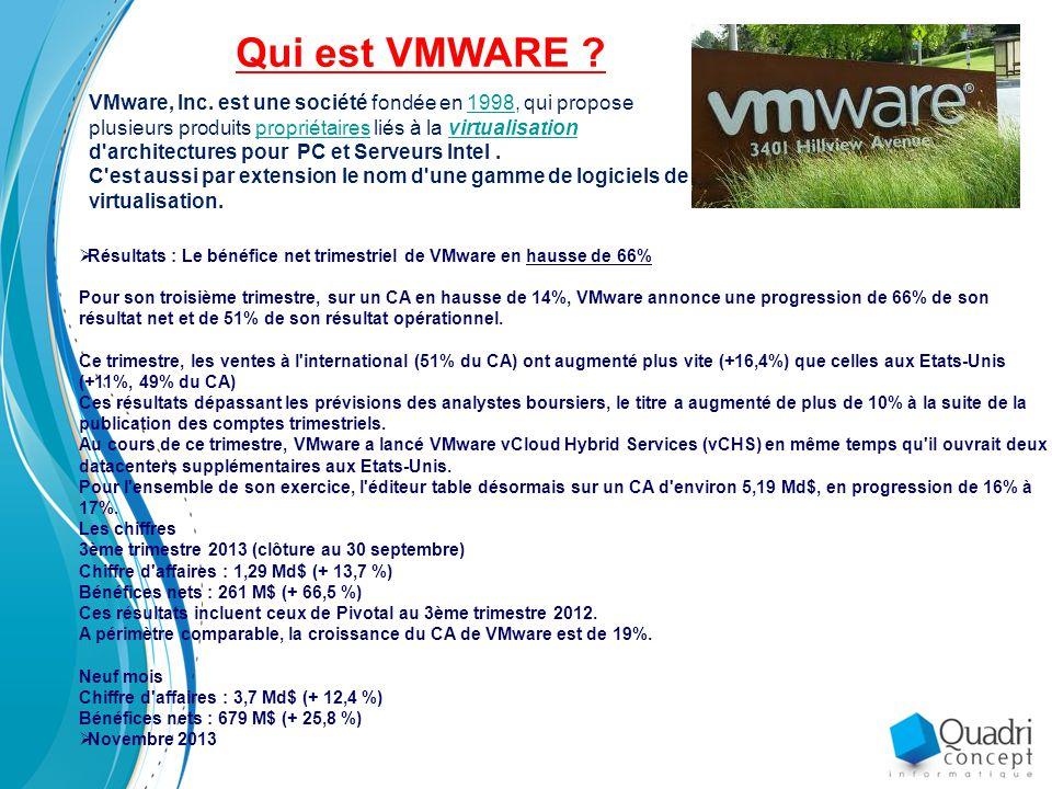 Qui est VMWARE
