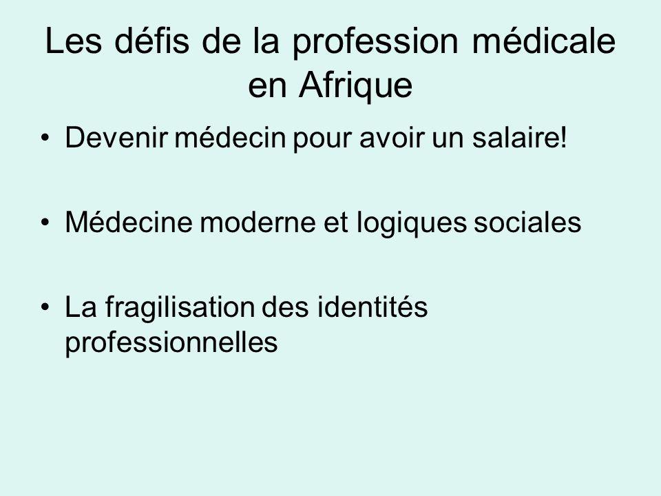Les défis de la profession médicale en Afrique