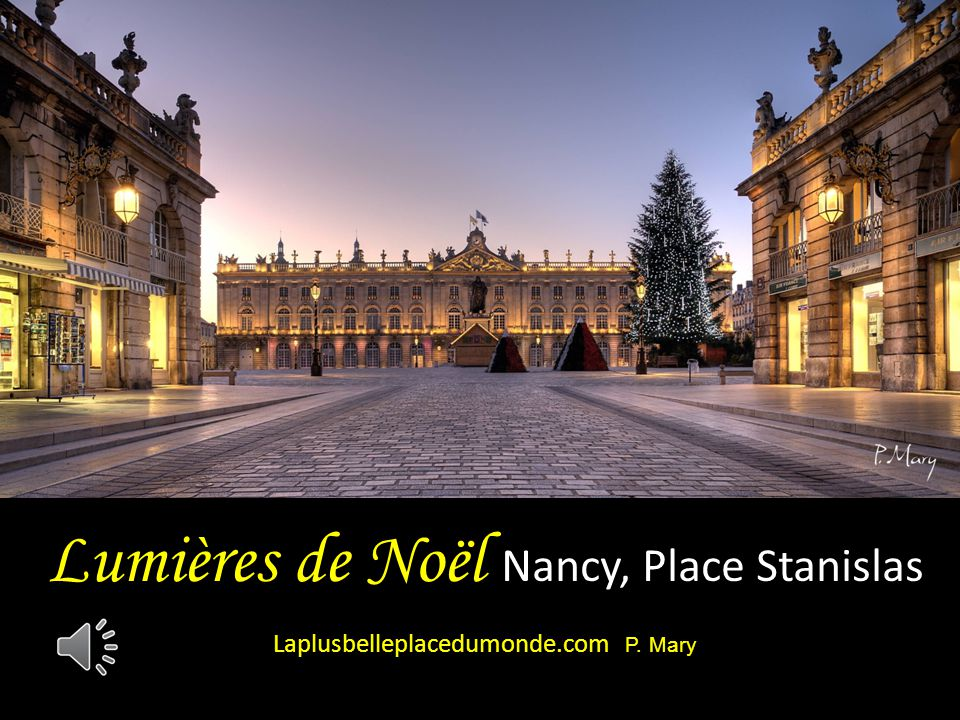 Lumières de Noël Nancy, Place Stanislas