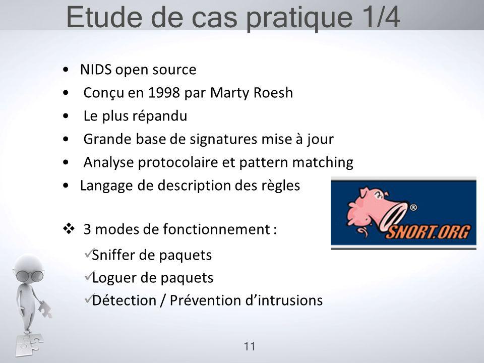 Etude de cas pratique 1/4 NIDS open source