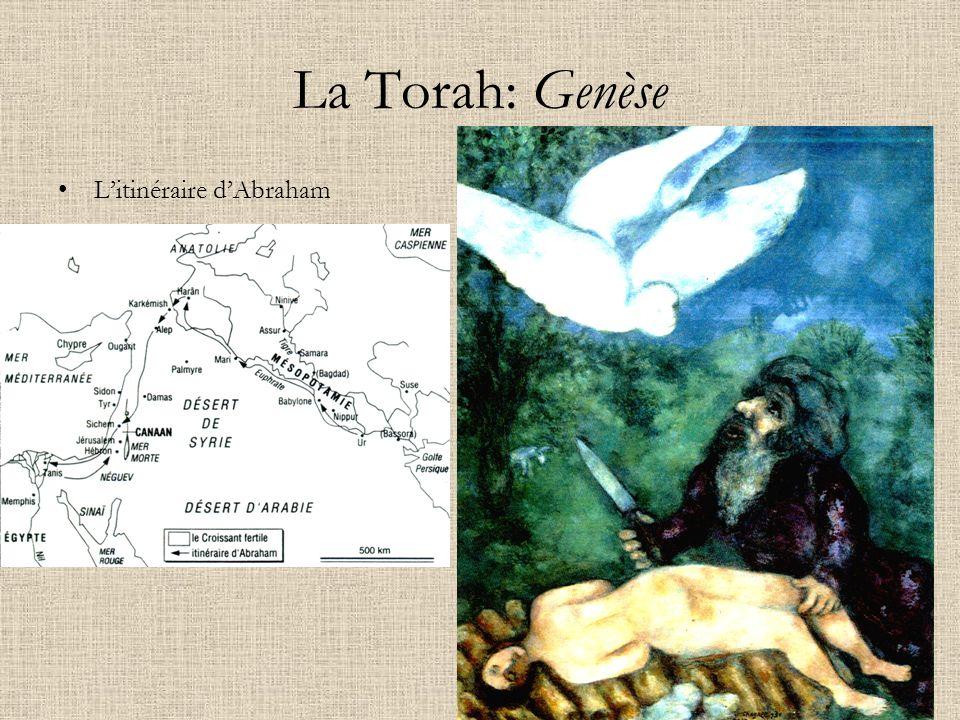 La Torah: Genèse L'itinéraire d'Abraham