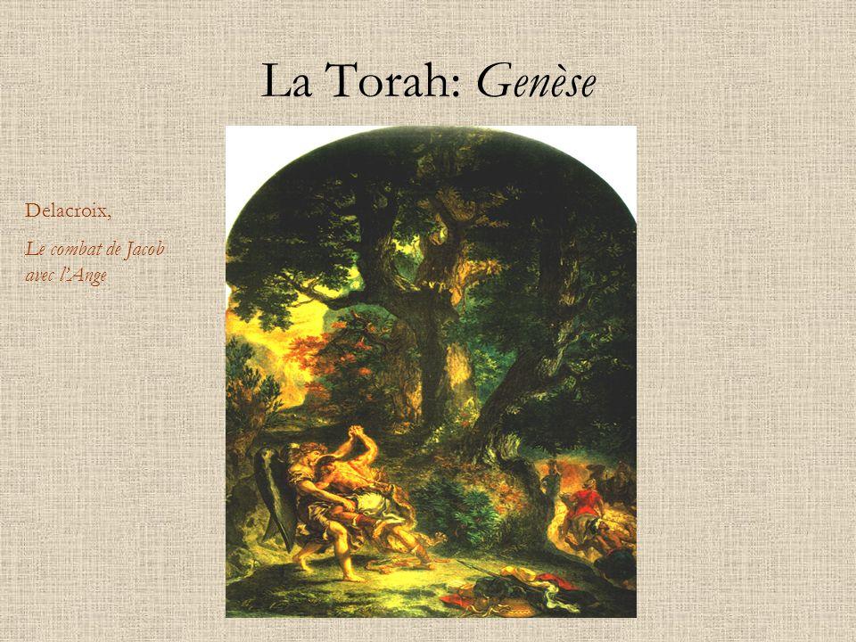 La Torah: Genèse Delacroix, Le combat de Jacob avec l'Ange
