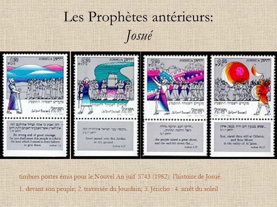 Les Prophètes antérieurs: Josué