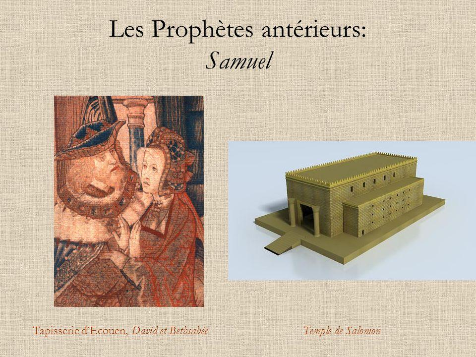 Les Prophètes antérieurs: Samuel