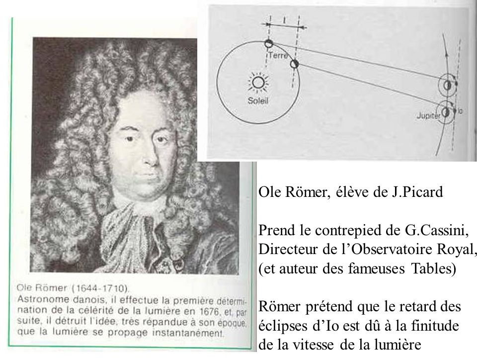 Ole Römer, élève de J.Picard
