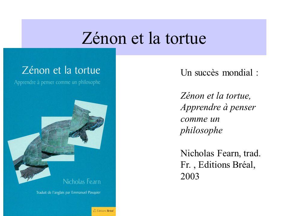 Zénon et la tortue Un succès mondial :