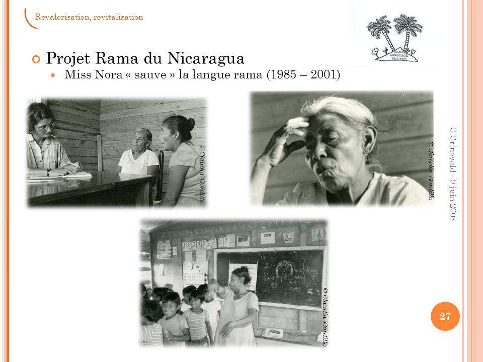Projet Rama du Nicaragua