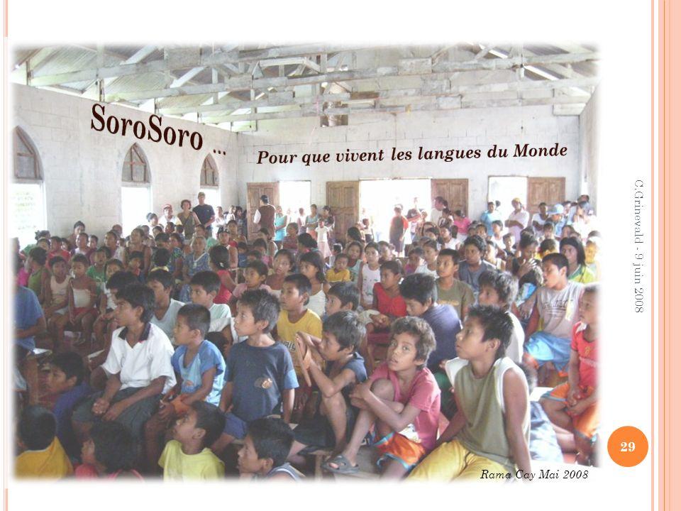 SoroSoro … Pour que vivent les langues du Monde
