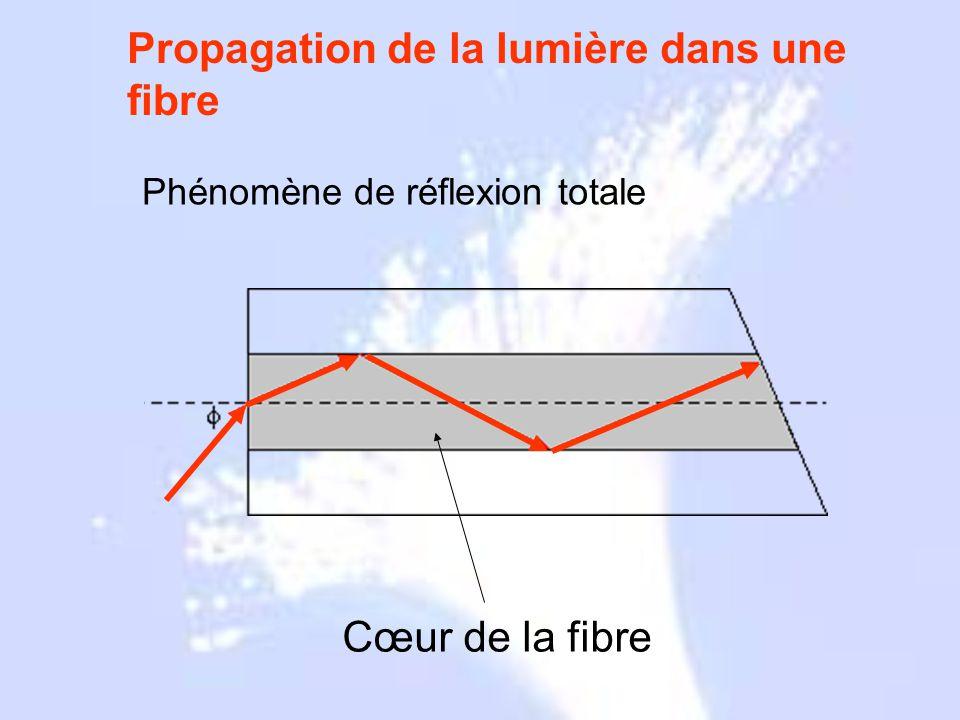 Propagation de la lumière dans une fibre