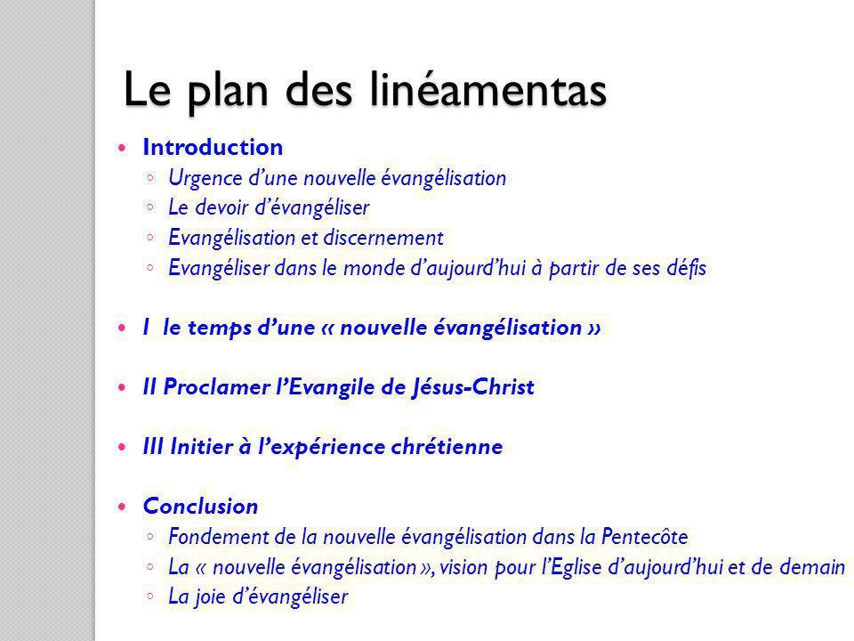 Le plan des linéamentas
