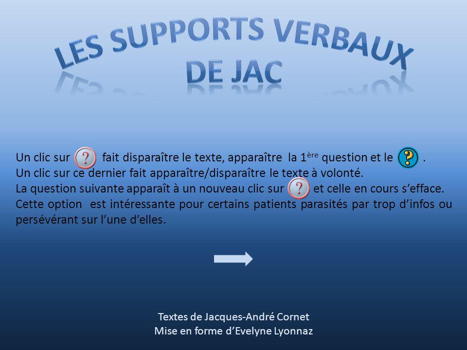 Les supports verbaux De jac