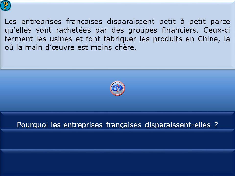 Pourquoi les entreprises françaises disparaissent-elles