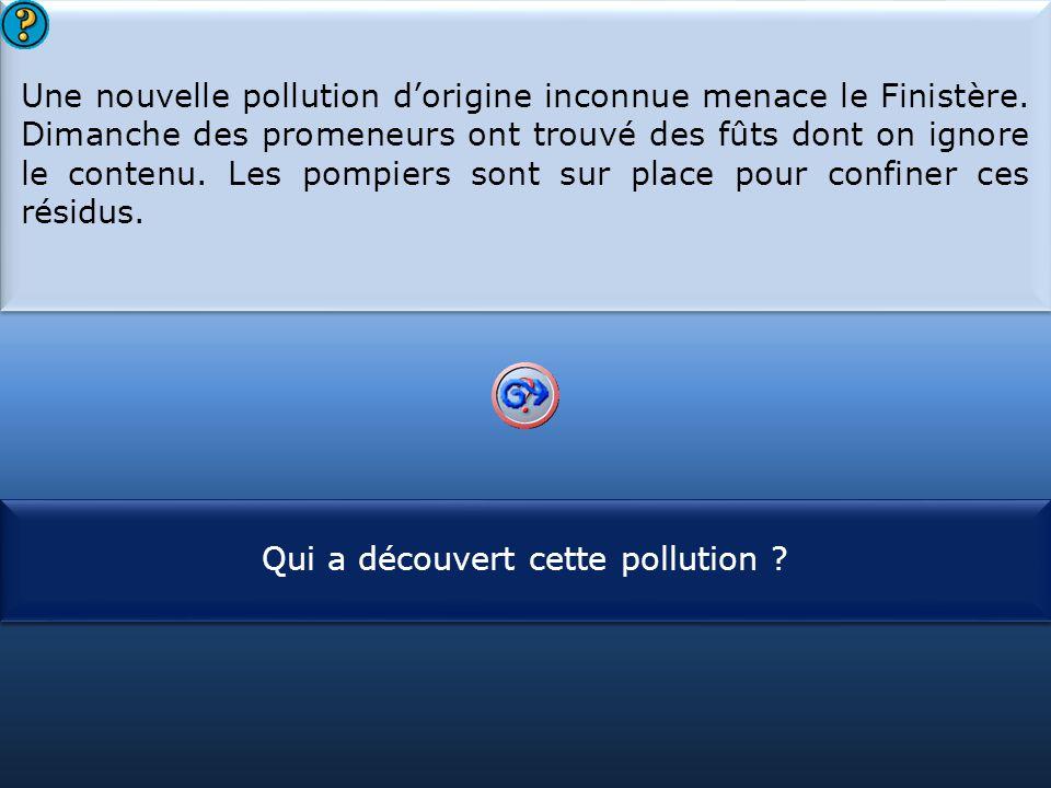 Une nouvelle pollution d'origine inconnue menace le Finistère