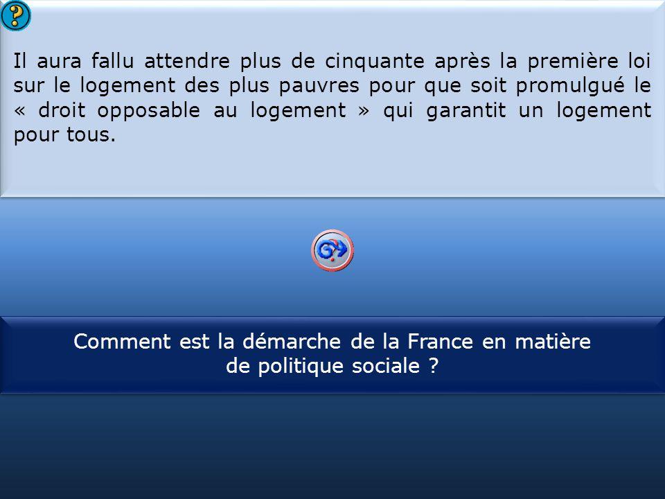 Comment est la démarche de la France en matière