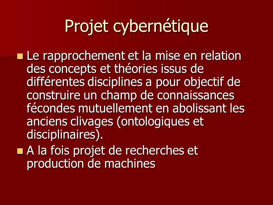 Projet cybernétique