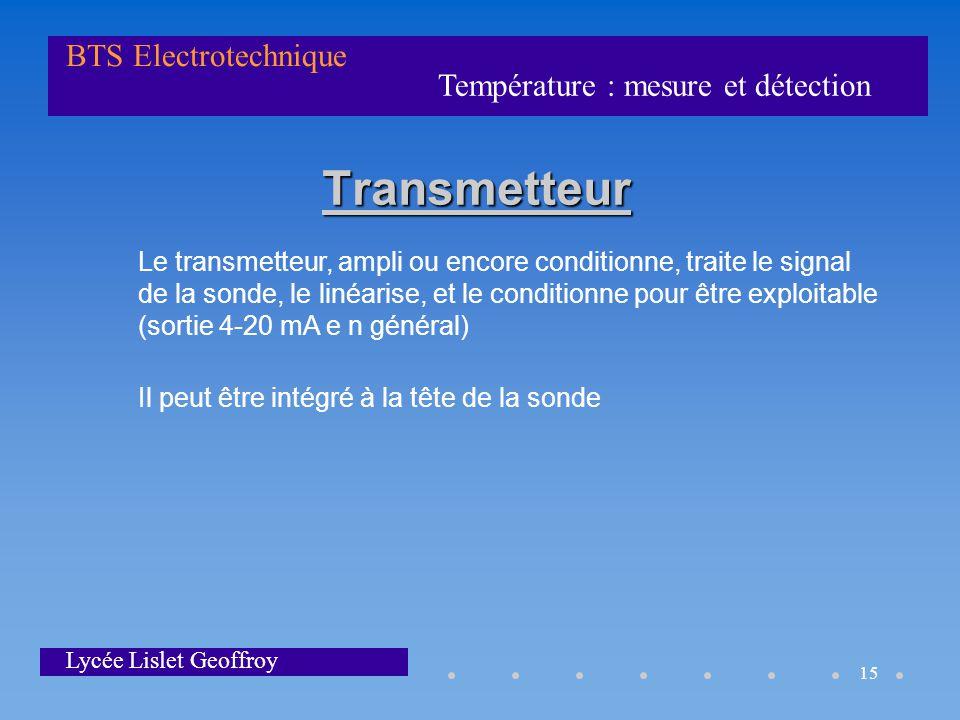 Transmetteur