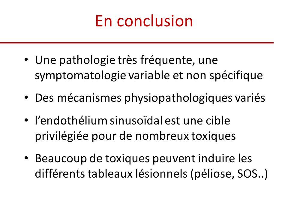 En conclusion Une pathologie très fréquente, une symptomatologie variable et non spécifique. Des mécanismes physiopathologiques variés.