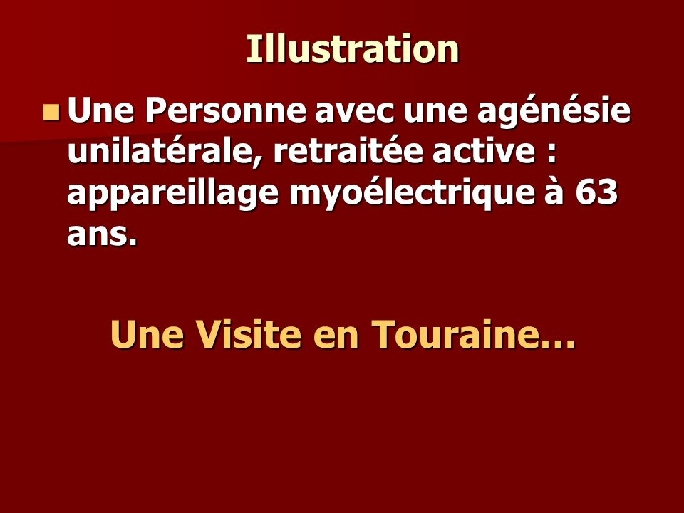 Une Visite en Touraine…