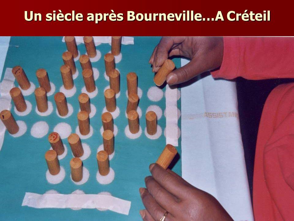 Un siècle après Bourneville…A Créteil