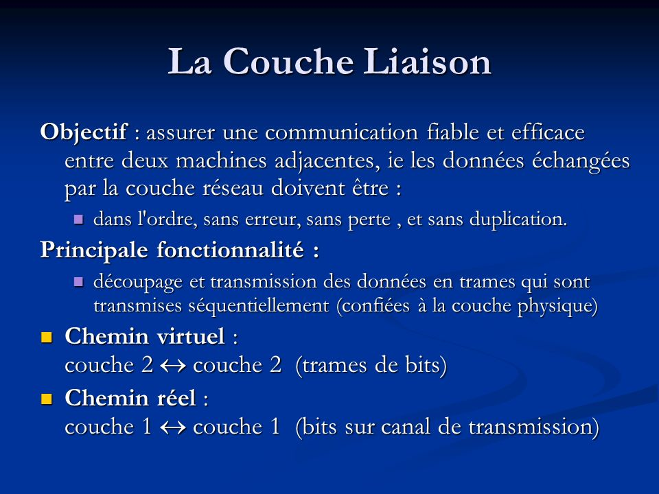 La Couche Liaison