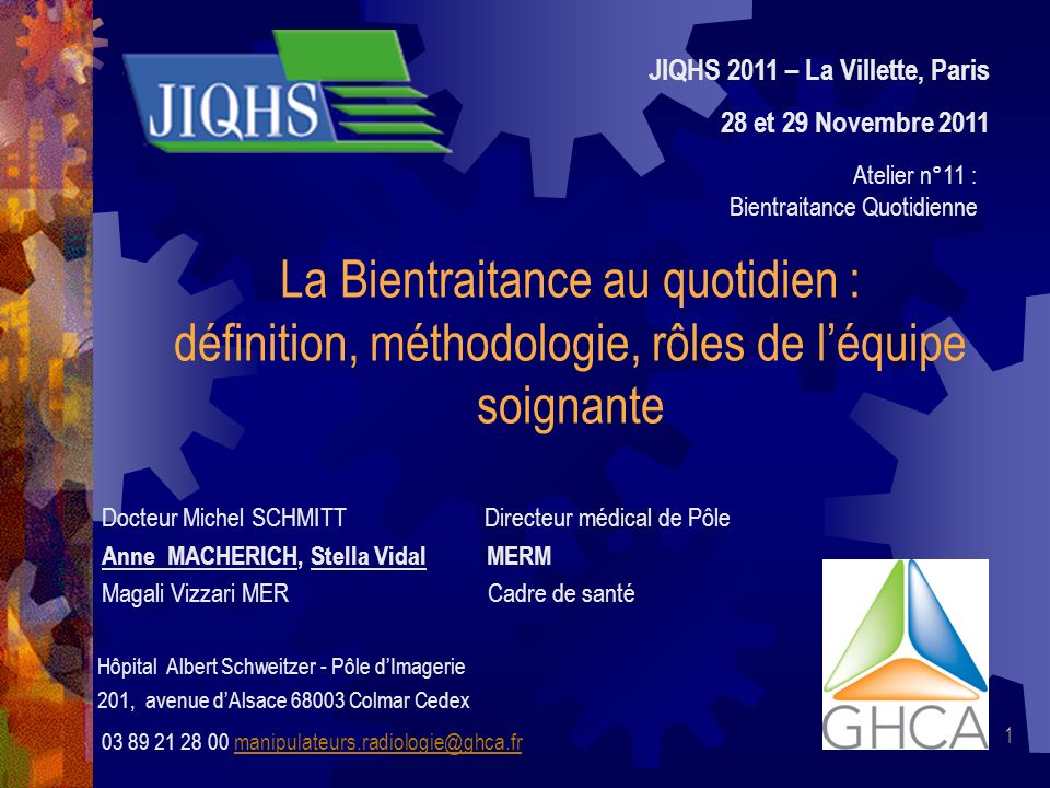 JIQHS 2011 – La Villette, Paris