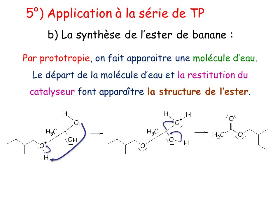 5°) Application à la série de TP