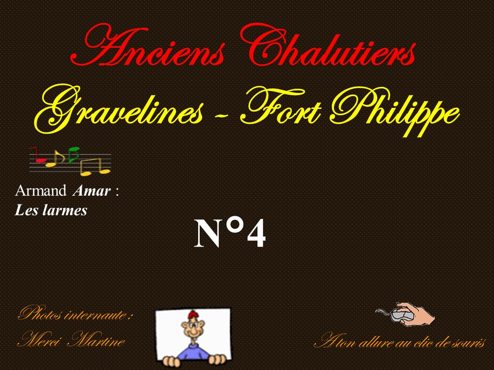 Anciens Chalutiers Gravelines - Fort Philippe N°4 Photos internaute :