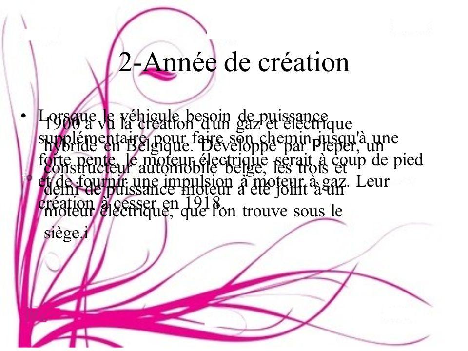 2-Année de création
