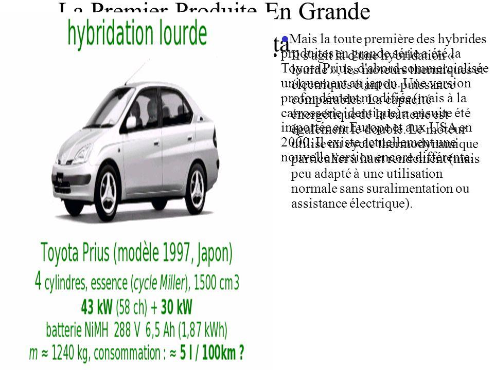 La Premier Produite En Grande Série Et Toyota