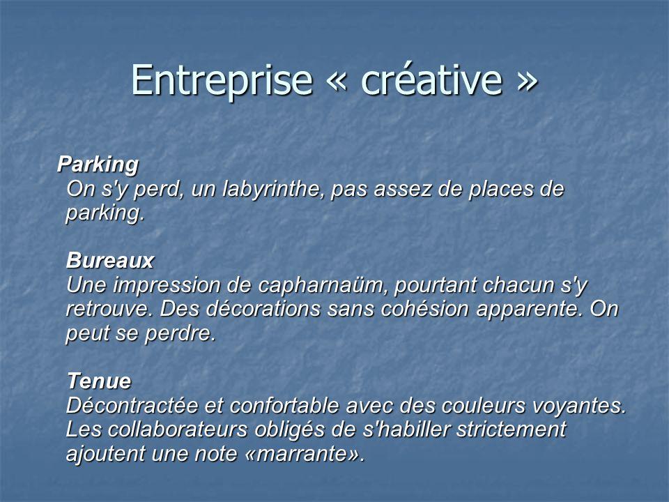 Entreprise « créative »