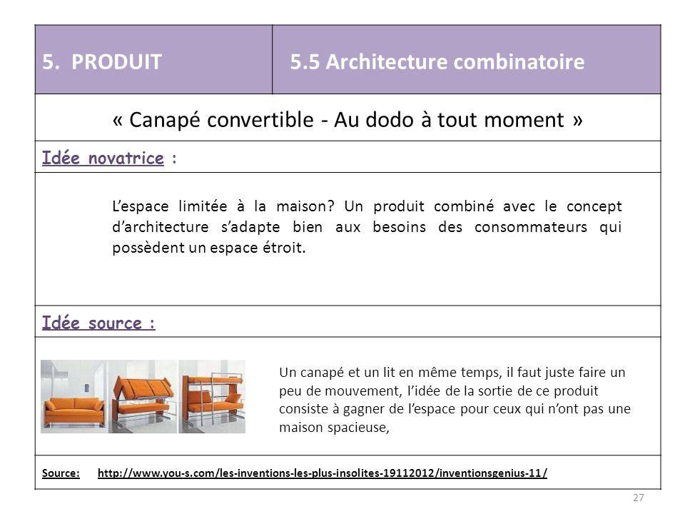 « Canapé convertible - Au dodo à tout moment »