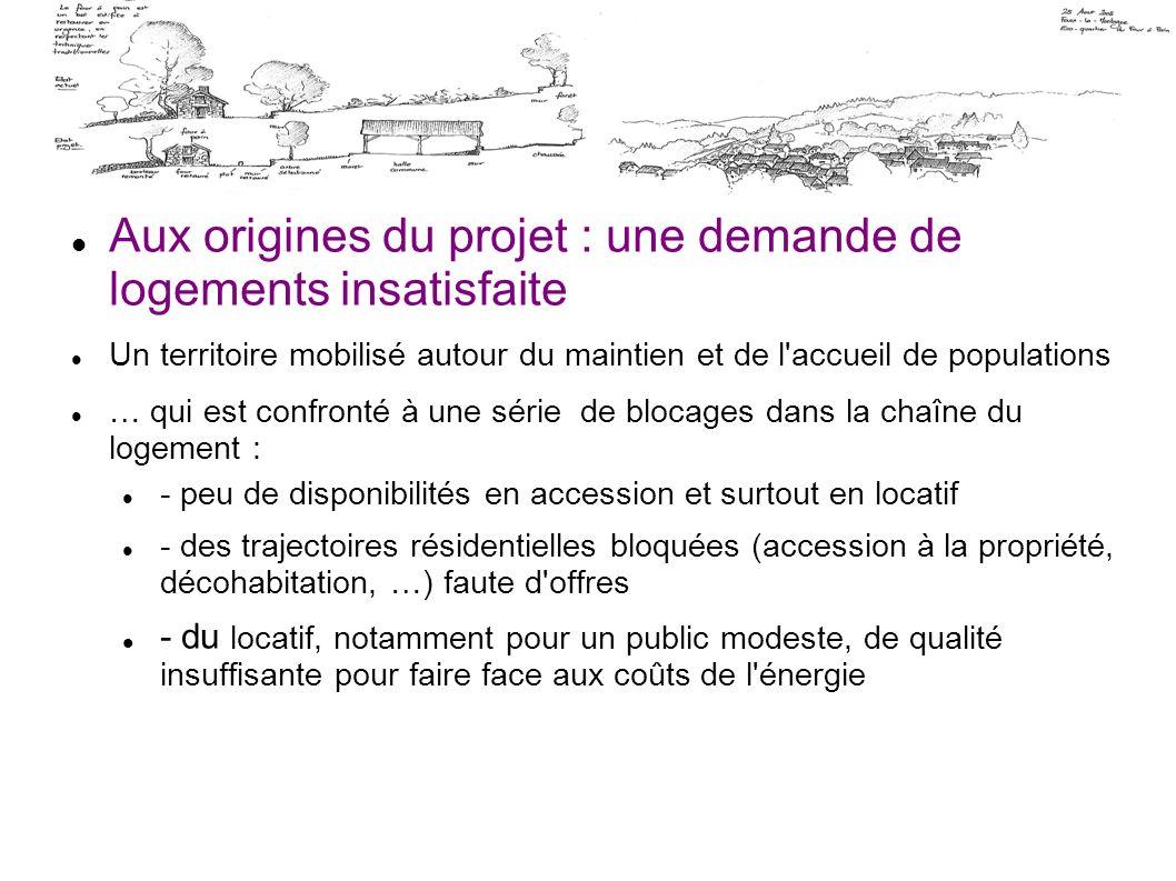Aux origines du projet : une demande de logements insatisfaite