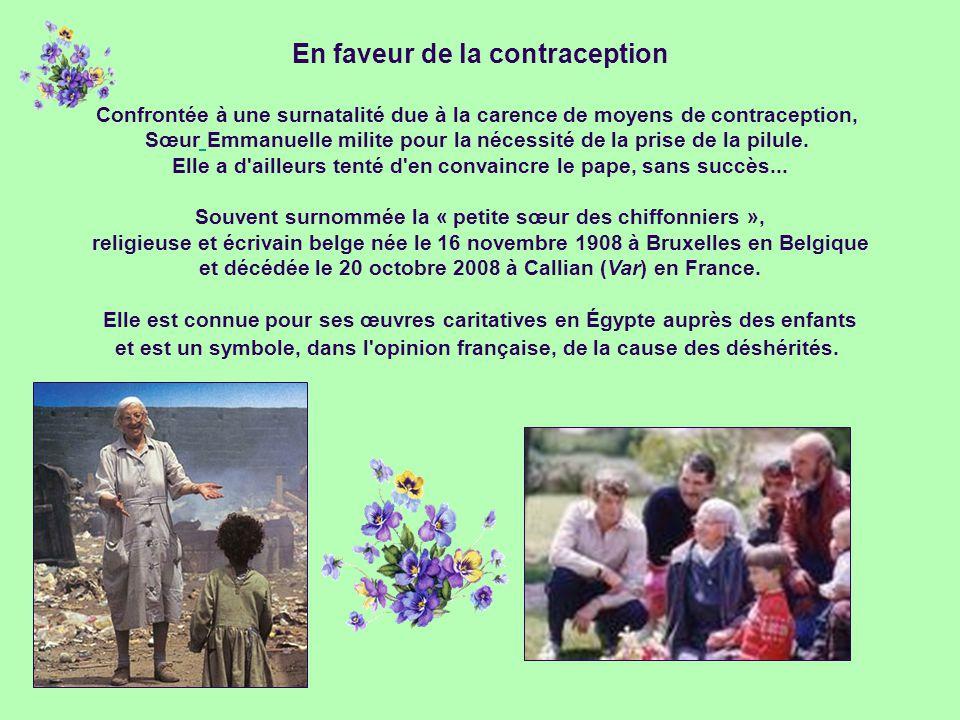 En faveur de la contraception