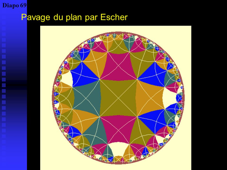 Pavage du plan par Escher