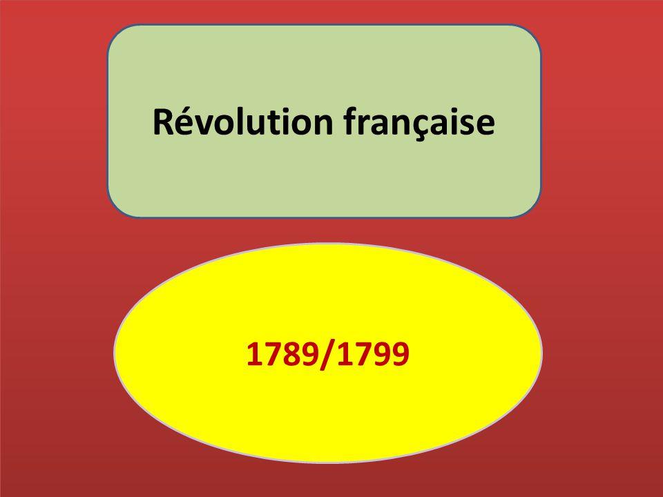 Révolution française 1789/1799