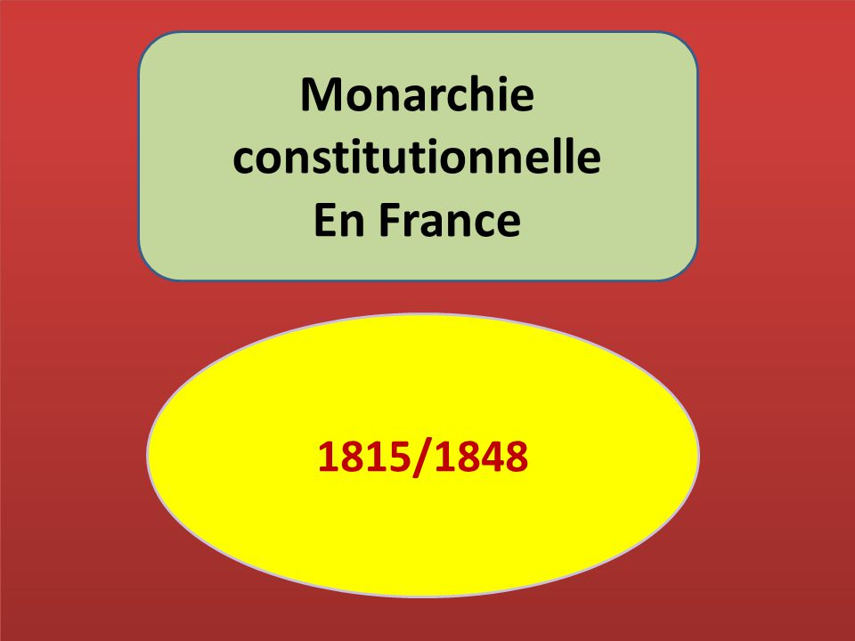 Monarchie constitutionnelle