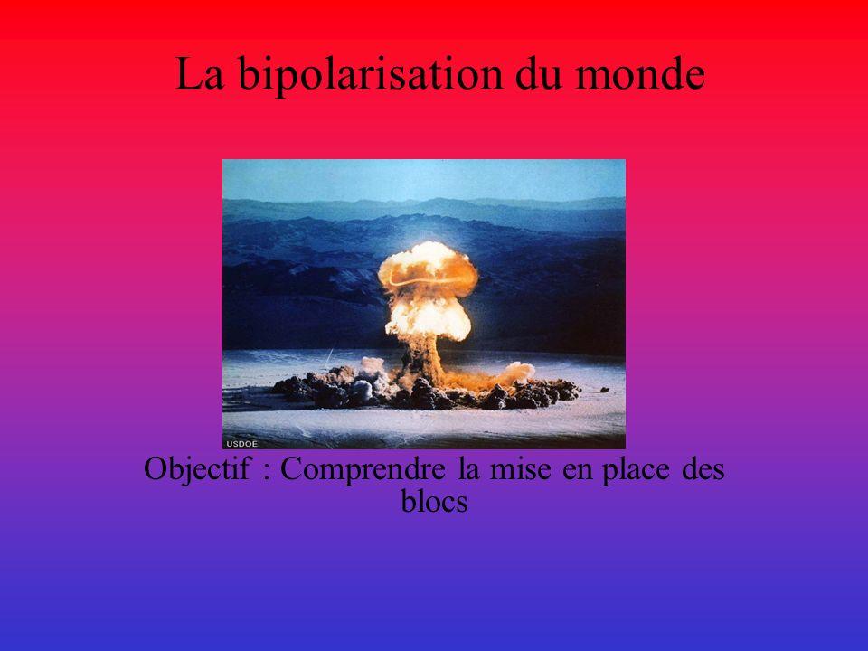 La bipolarisation du monde