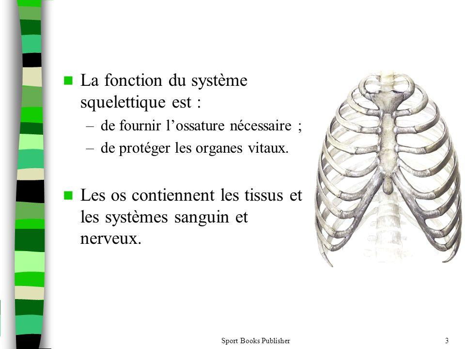 La fonction du système squelettique est :