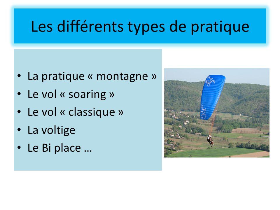 Les différents types de pratique