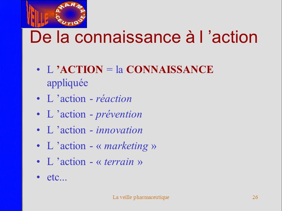 De la connaissance à l 'action