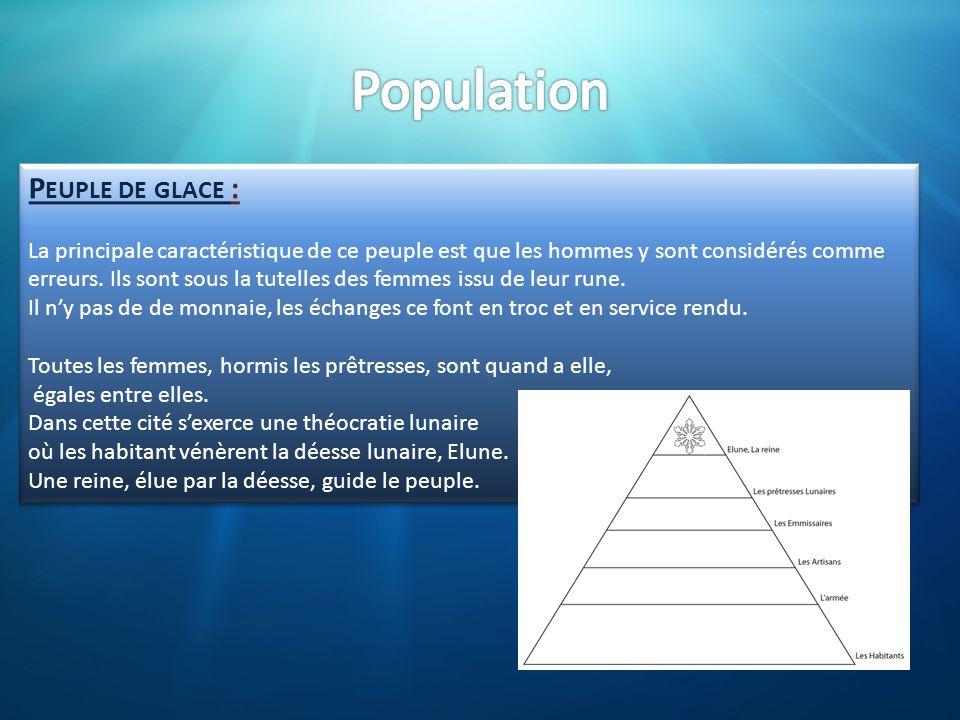 Population Peuple de glace :