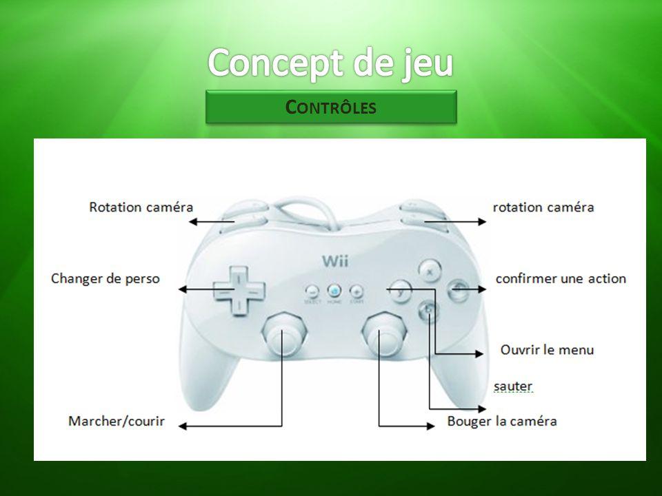 Concept de jeu Contrôles