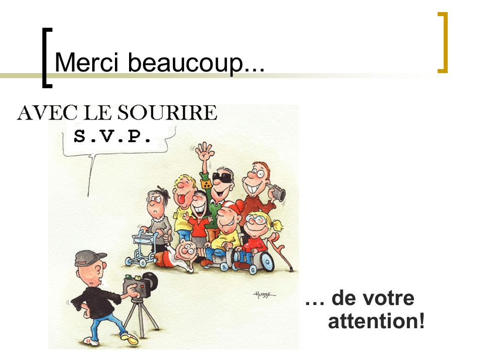 Merci beaucoup... … de votre attention! Mag. Walter Pfaller