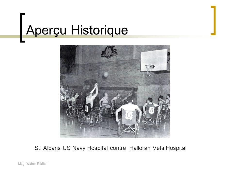 Aperçu Historique St. Albans US Navy Hospital contre Halloran Vets Hospital Mag. Walter Pfaller
