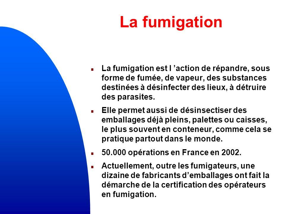 La fumigation
