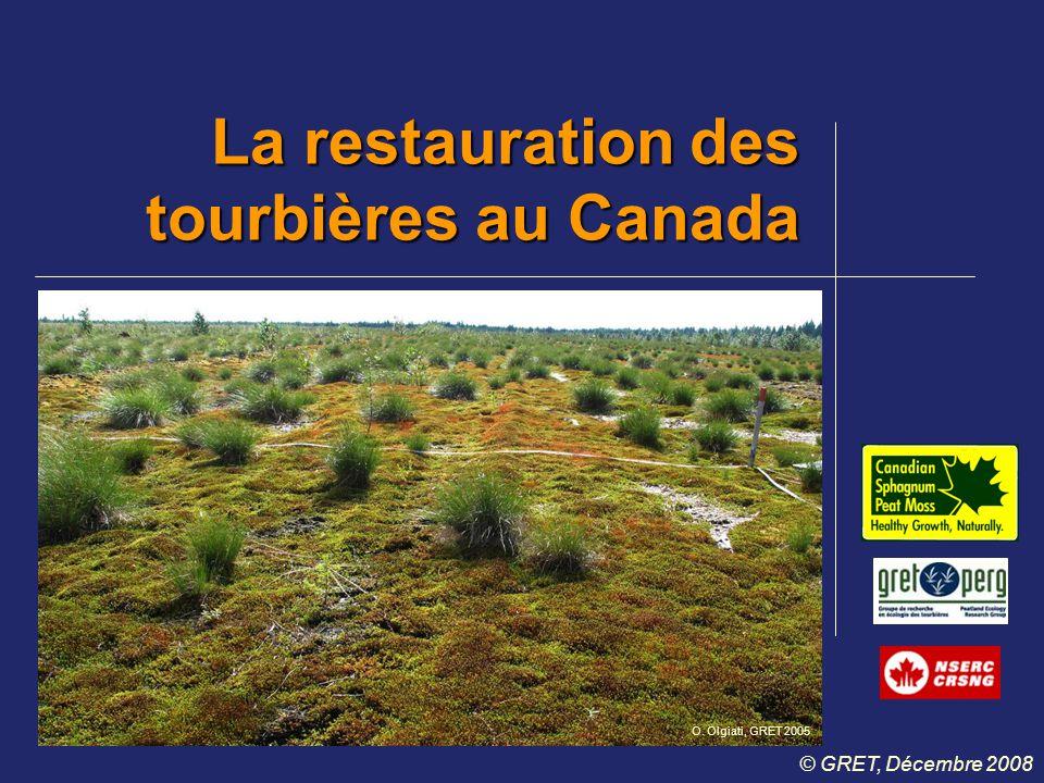 La restauration des tourbières au Canada